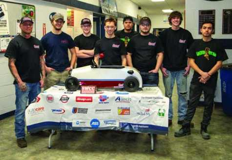 Osceola, IA, Auto Repair Students Place 3rd in Pedal Car Challenge