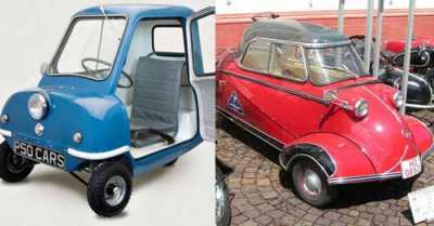 On the Lighter Side: 22 Of The Smallest Vehicles in the World