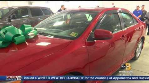 2 Veteran Families Receive Cars Through NABC Recycled Rides in VA