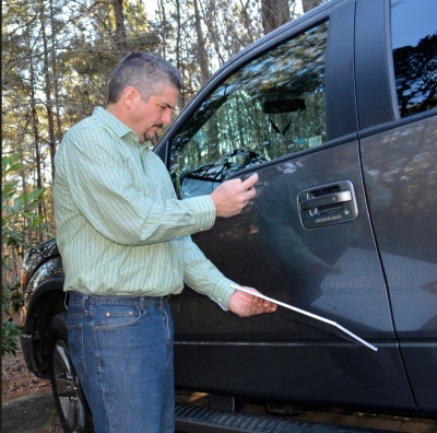 Tim Briggs, owner of Collision Edge, is the inventor of The Tape Thing and The Dent Viewer, which are used in body shops all over the world.