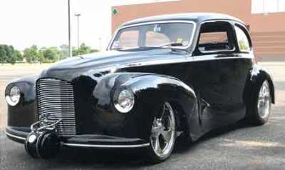 1948 austin painted with glasurit wins street rod of the. Black Bedroom Furniture Sets. Home Design Ideas