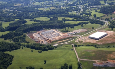Eldor Corp.'s Botetourt Facility is under construction on property in the Greenfield industrial park off U.S. 220. The Italian high-tech automotive parts Company makes ignition systems, engine control units and electronic systems for North American distribution.
