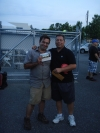 The Grand Prize winner pictured with Tony Solo, Competition Automotive Group Wholesale Parts Manager.