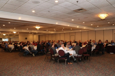 More than 100 collision repair industry professionals attended ABAC's quarterly meeting.