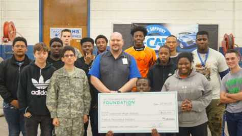 NC High School Receives Ultimate Collision Makeover Grant