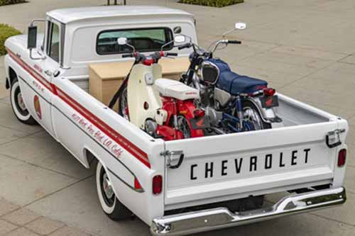 15 american honda 60th anniversary chevy delivery truck resize md