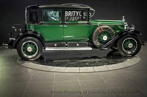 Al Capone's Cadillac has been exhibited in museums on both sides of the Atlantic since the 1930s.  Credit: Celebrity Cars Las Vegas