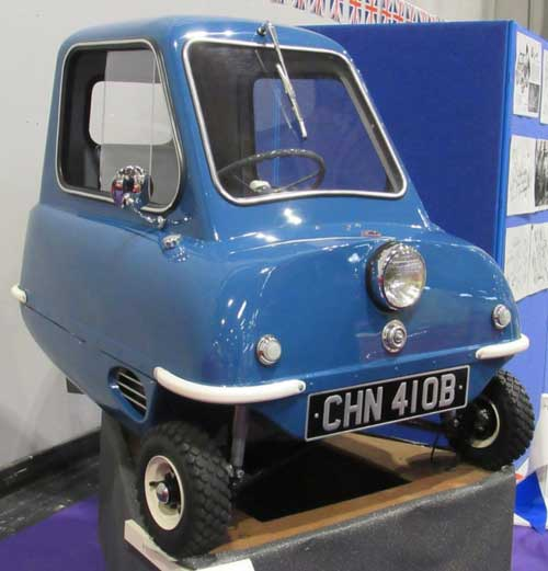 Peel P50 blue web