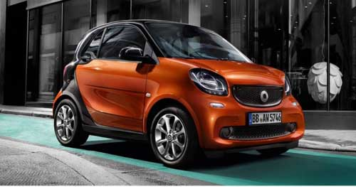 Worlds smallest cars Fortwo web