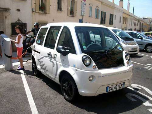 Worlds smallest cars Mia Electric web
