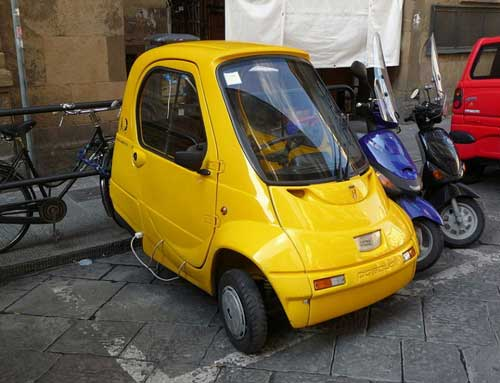 Worlds smallest cars Pasquali Riscio web