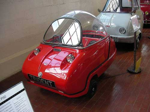 Worlds smallest cars Trident web