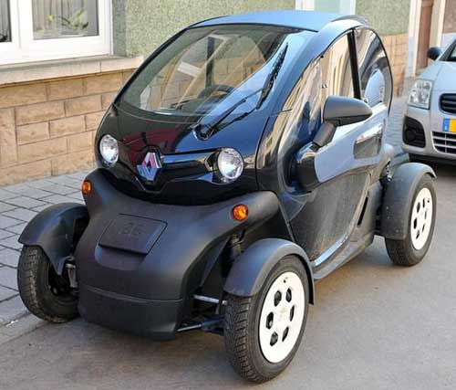 Worlds smallest cars Twizy web