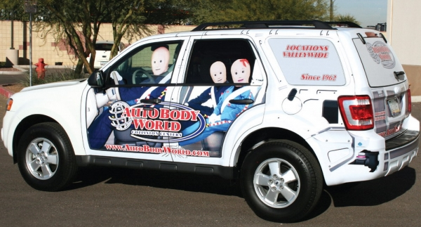 Do Vehicle Wraps Make Sense for your shop?