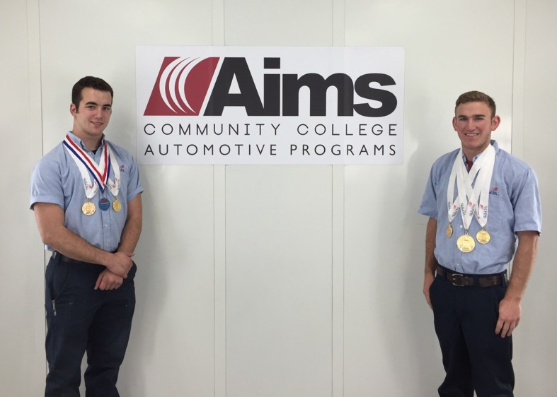 Aims College Automotive Students to Compete in National Competition