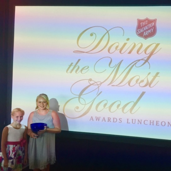 Young Sisters Recognized for 'Doing Most Good'
