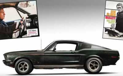 The world record auction price of $2.2 million for a Mustang will almost certainly be smashed by the Bullitt car, as will the $1 million record for a Mustang appearing in a feature film (Gone in 60 Seconds).