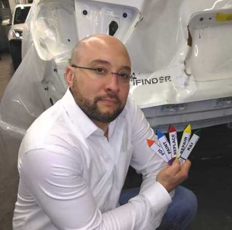 Justin Forkuo is the owner of 290 Auto Body, Inc. in Worcester, MA, and the creator of Crash Point Systems.