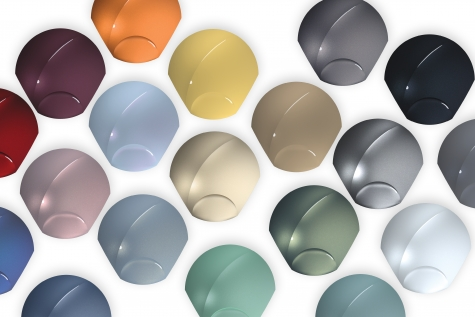 BASF's 2020-2021 Automotive Color Trends Collection Shows New Optimism and a Positive Mood