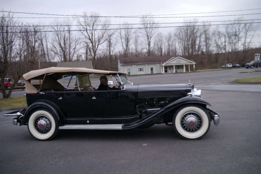 1932 Packard, Once Owned by FDR, Restored by Wayne Carini of ...
