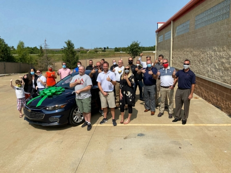 NABC Recycled Ride® Program, GEICO, Car Craft Auto Body Chesterfield Donate Refurbished Vehicle to Veteran