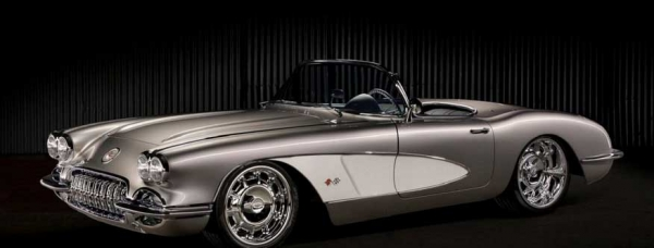 Axalta's 2018 Custom Finishes Calendar winner: Gil LeBlanc, 1959 Chevrolet Corvette (Cromax) (Cover and April)