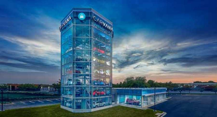 Gigantic vending machine for cars opens in gaithersburg md for Gaithersburg motor vehicle administration gaithersburg md