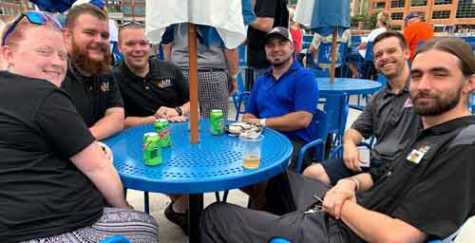 Members of IGONC's Triangle Chapter enjoyed an evening of networking and fun during the group's annual Night Out at the Durham Bulls Ballpark.