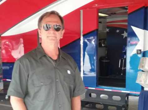 Keith MacDonald, PPG's Show Truck driver