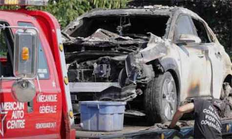 Louise Desrosiers, a Division Chief from the Montreal Fire Department, said they found no other possible cause to the fire apart from the Hyundai Kona.