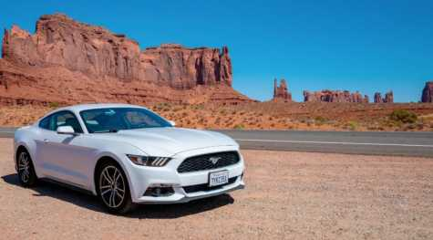 On the Lighter Side: Man Breaks Cannonball Run Record Driving Rental Mustang Across America