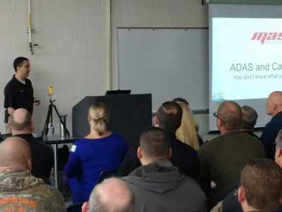 "Shaun O'Neill of Mobile Auto Solutions presented ""ADAS and Calibration – You Don't Know What You Don't Know"" to ASA-MI members."