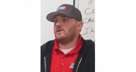 Josh Greenwalt of Parker Motor Company told the students there are many opportunities available in the automotive field.