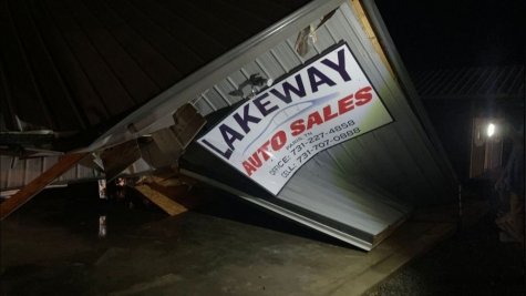 Tennessee Storm Destroys Classic Car Dealership