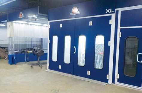 Since installing two Accudraft XL downdraft paint booths, an AccuMix SS mixing room and an Accudraft Prep 4000 automotive prep station, Modern Auto Body has enjoyed triple its previous production.