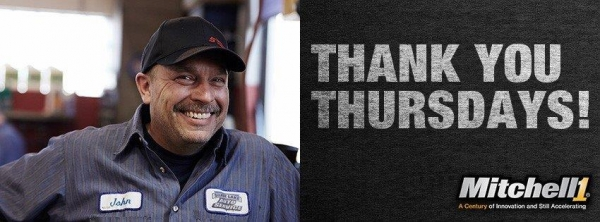 "Mitchell 1 Celebrates 100 Years of Innovation with ""Thank You Thursdays"" Sweepstakes"