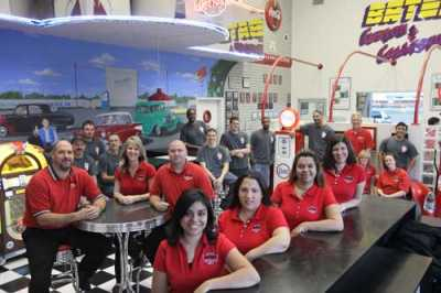 The staff at Bates Collision Centers located in Texas.