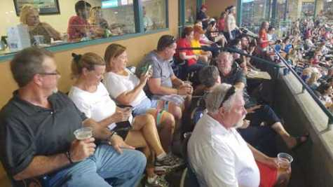 This year's event attracted more than 50 association members who enjoyed the game in two air-conditioned suites.