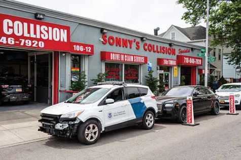 Sonny's Collision Specialists loves its USI Chronotech booths and would never even consider using any other brand.