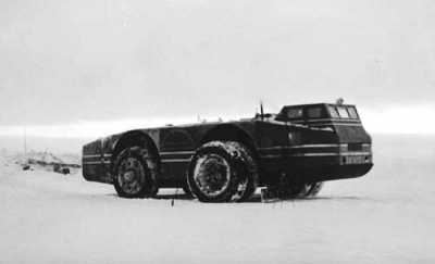 On the Lighter Side: VIDEO: The Incredible Story of America's Lost 1939 Antarctic Snow Cruiser