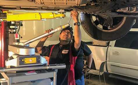 Spanesi products have helped contribute to Kapa'a Auto Body's success.