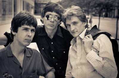 The Baxters consisted of (from left) drummer Jim Keller, lead guitarist Martin Krohne and bass player Greg Scott.