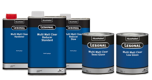 AkzoNobel Lesonal Multi Matt Clear: The Perfect Solution for a Matt Finish in any Gloss Level
