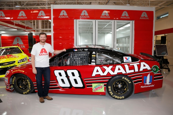 Dale Earnhardt Jr.'s Last NASCAR Cup Series Car Revealed by Axalta
