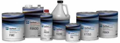 The PPG Delfleet One™ paint system