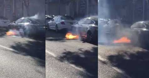 Investigation Into Tesla Battery Fire in CA Remains Hazy