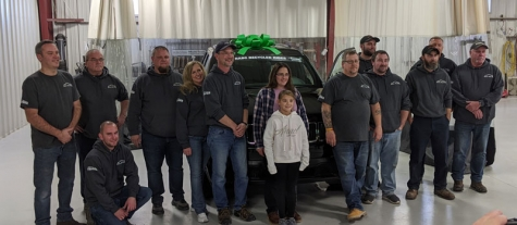 Hayward, WI, Businesses Rebuild and Donate Car to Local Family