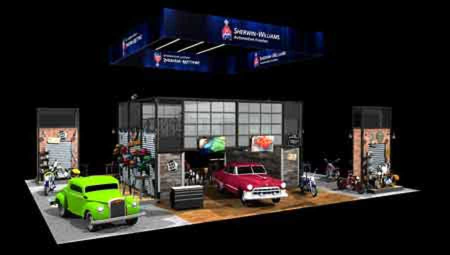 Sherwin Williams Auto Paint >> Sherwin Williams Automotive Finishes To Feature Its Best Basecoat