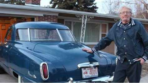 Logan, UT, Collision Repair Shop Worker Turns Heads With His Studebaker Champion Starlight