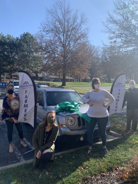 Farmers Insurance, NABC Donate Vehicle to Kansas Recipient